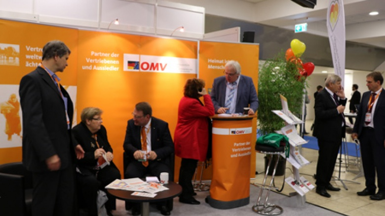 Am OMV-Stand