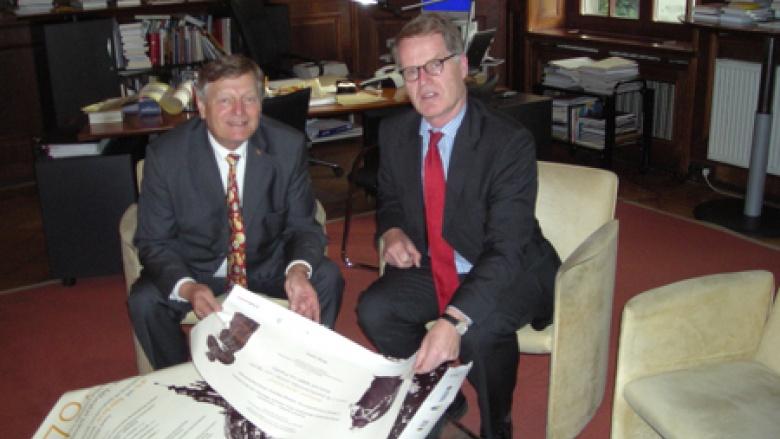 Antrittsbesuch bei Generalkonsul Brasack