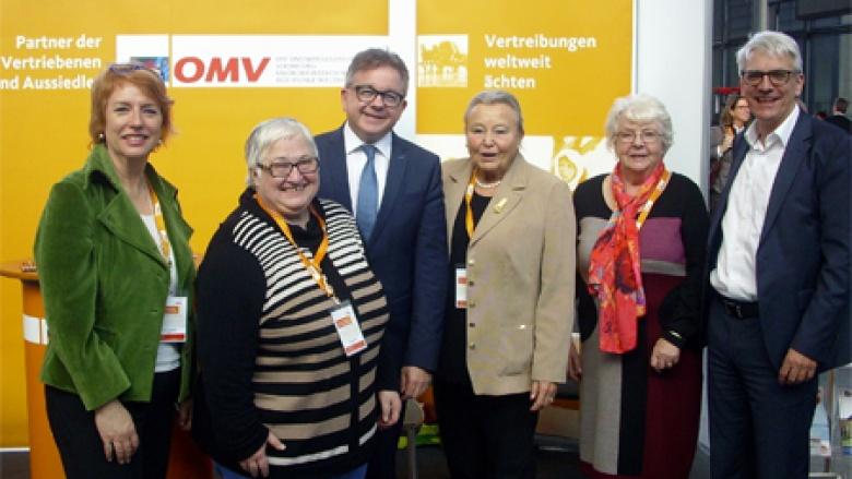Sabine Mezger, Waltraud Illner, Guido Wolf MdL, Bärbel Häring, Ingrid Wessel und Klaus Hoffmann