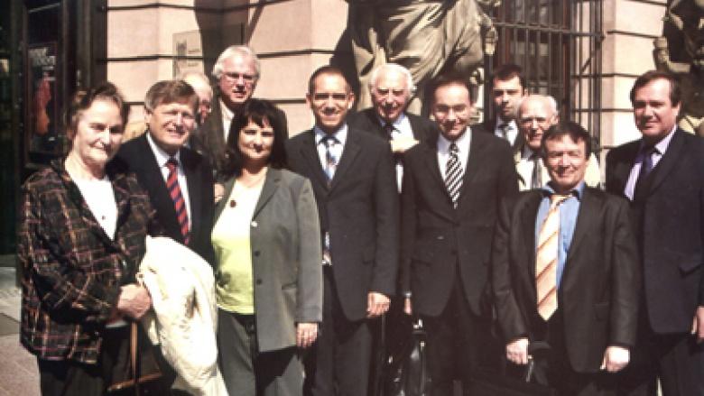 OMV-Bundesvorstand vor dem Deutschen Historischen Museum in Berlin