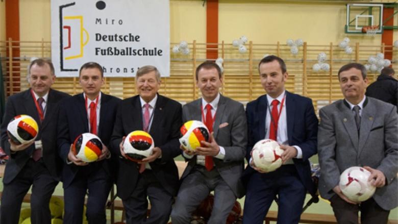"""""""Deutsche Fußballschule"""" in Chronstau O/S eröffnet"""