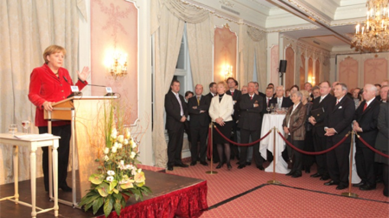 Jahresempfang des Bundes der Vertriebenen im Berliner Opernpalais 2010