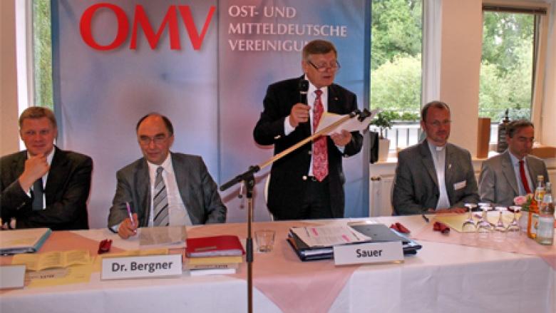 Bei der Eröffnung der OMV-Landestagung in Niedersachsen