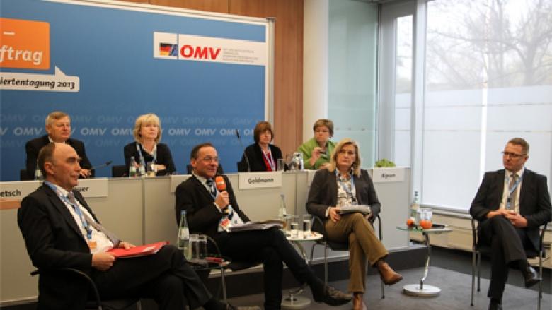 Podiumsdiskussion zu Themen der Aussiedlerpolitik