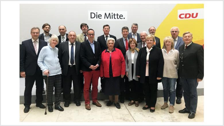 OMV-Bundesvorstand mit Eckhard Pols MdB
