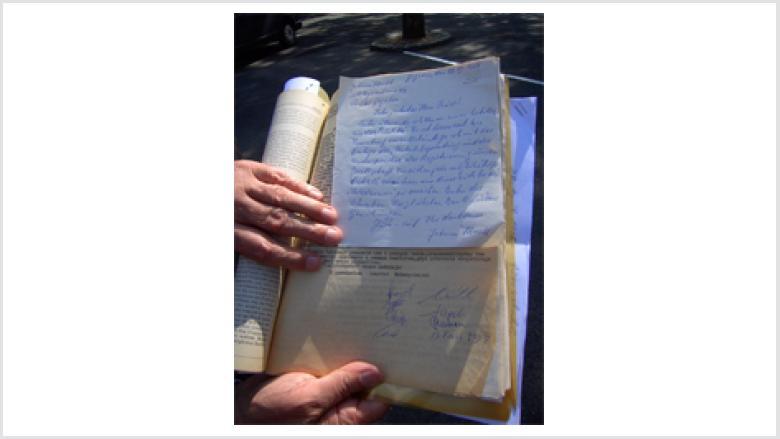 Die historischen Briefe dokumentieren die Entstehung der SKGD.