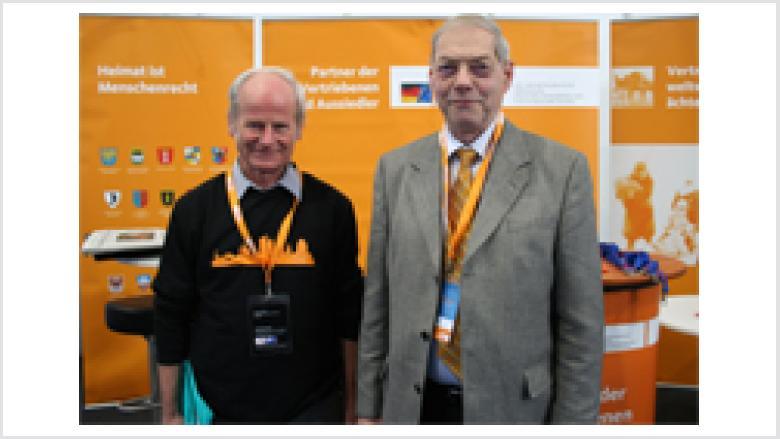 Herr Grigat und Herr Hübler OMV-Mitglieder aus Sachsen