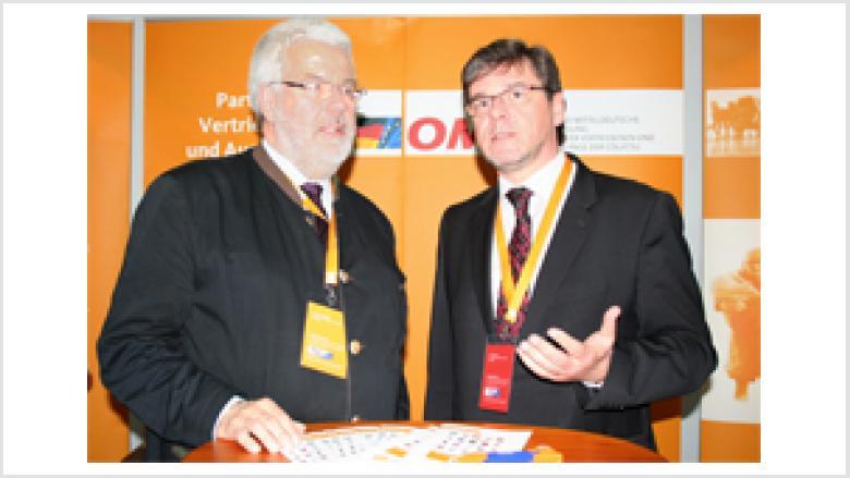 Volker Schimpff mit Frank Kupfer MdL, Sächsischer Staatsminister für Umwelt und Landwirtschaft