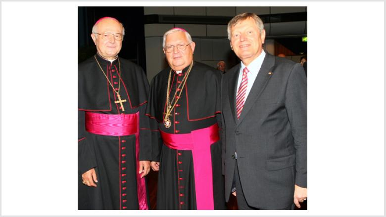 Erzbischof Dr. Robert Zollitsch, Gerhard Pieschl, Helmut Sauer