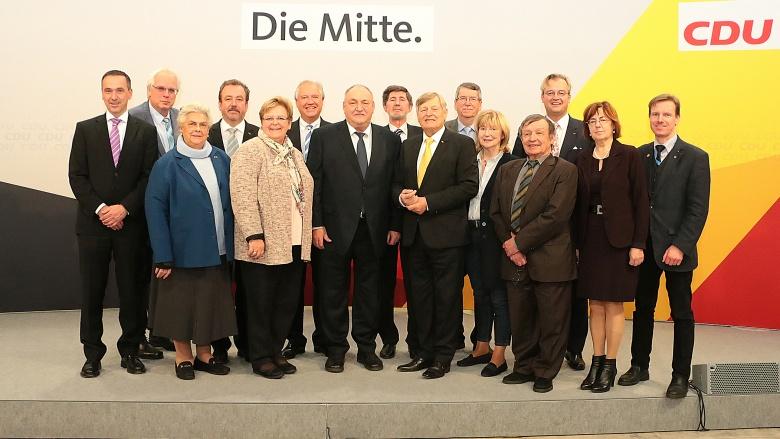 OMV-Bundesvorstand, gewählt am 24. November 2017