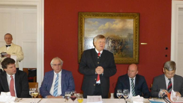 Bundesvorsitzender Helmut Sauer