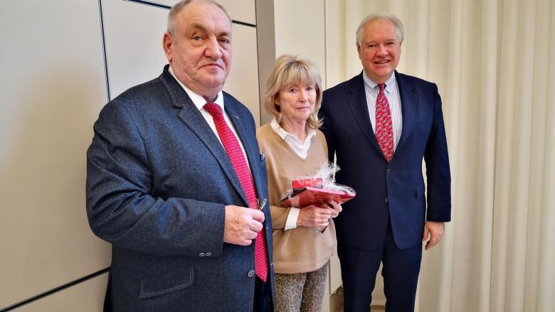 Dank an Gudrun Osterburg für ihre langjährige Arbeit im OMV-Bundesvorstand