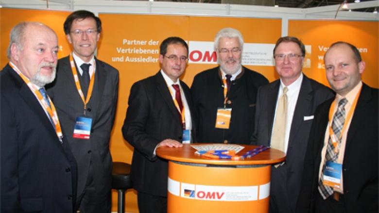 (v.l.n.r.) Volker Uhlig, Dr. Matthias Rößler MdL, Steffen Flath MdL, Volker Schimpff, Detlef Schubert und Torsten Nitzsche