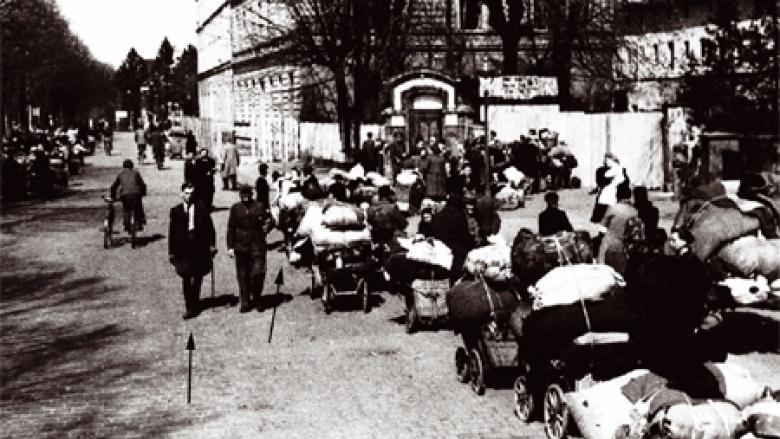 Güterbahnhof in Frankenstein