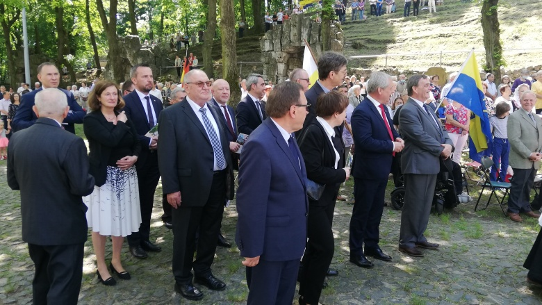 Minderheiten Wallfahrt auf den oberschlesischen St. Annaberg