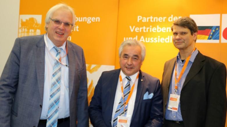 Klaus Schuck, Volker Mosblech MdB und Alfred Kottisch