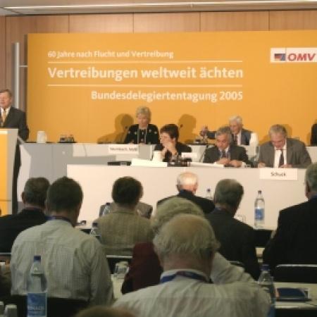 Begrüßung der Delegierten