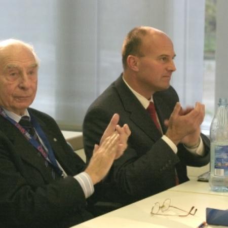 Ehrenmitglied Dr. Sieghard Rost und Hartmut Koschyk