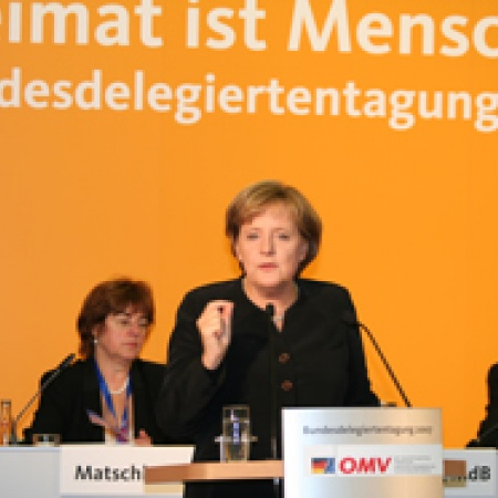 Ansprache von Bundeskanzlerin Dr. Angela Merkel