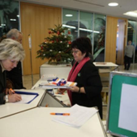 Tagungsbüro Anmeldung der Delegierten und Gäste