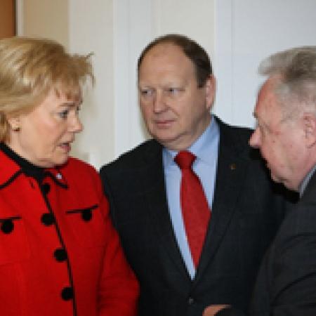 Erika Steinbach im Gespräch mit Klaus Brähmig
