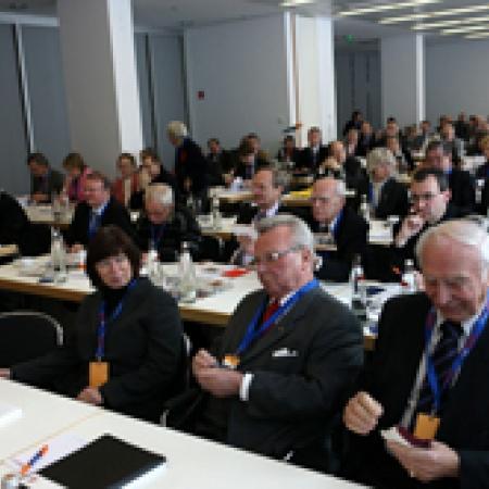 Delegierte und Gäste der Bundesdelegiertentagung