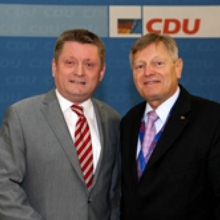 Hermann Gröhe MdB mit Helmut Sauer (Salzgitter)