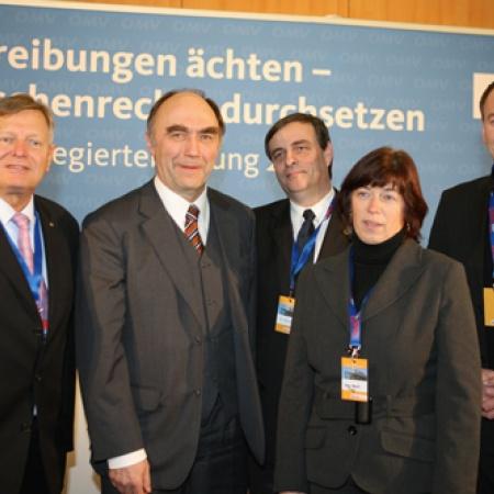 Dr. Christoph Bergner mit Vertretern der deutschen Minderheit