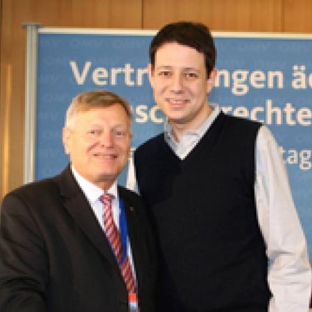 Helmut Sauer mit Philipp Mißfelder MdB