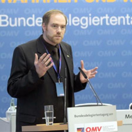 Delegierter Stephan Krüger