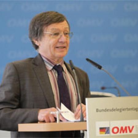 Vorsitzender der Antragskommission Rüdiger Goldmann