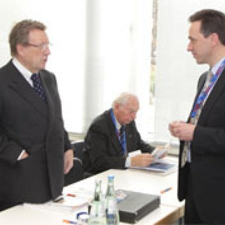 Manfred von Richthofen im Gespräch mit Christoph Zalder