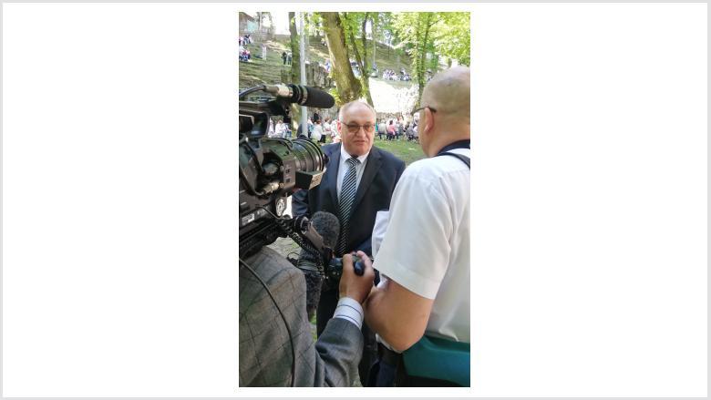 Interview mit Egon Primas